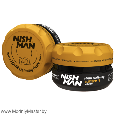 Паста для волос NISHMAN MATTE PASTE ARGAN